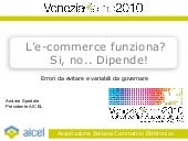 L'e-commerce funziona? si, no.. dip...