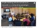Implementing whole-school turn towards 1:1 computing paradigm