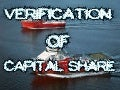 Verification of  capital share