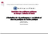 L'évaluation de la performance : en...