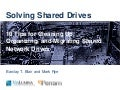 Solving Shared Drives: 10 Tips for Cleaning Up, Organizing, and Migrating Content in Shared Network Drives