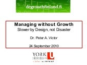 Peter Victor: Managing without Grow...