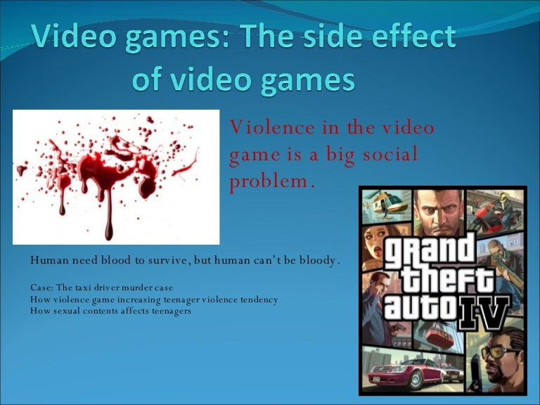 essay on violent video games Each year, many young people's christmas lists are packed with violent video games that commandeer minds and eyeballs for hours on end although it's easy to skip those items and opt for.