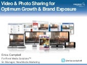 Video & Photo Sharing for Optimum G...