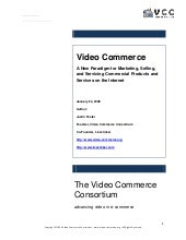 Video Commerce And eCommerce Video:...