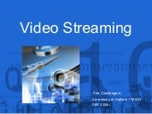Video Streaming