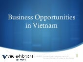 Business Opportunities in Vietnam