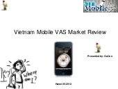 Vietnam Mobile VAS Market Review