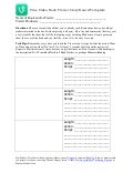 Vine Video Book Trailer Storyboard Template