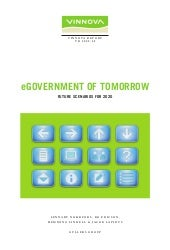 Vinnova: eGovernment of Tomorrow