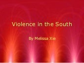 Violence in the south