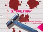Violencia escolar: Bullying