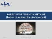 VIPC- Foreign Indirect Investment i...