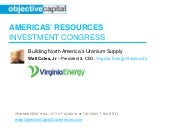 Building North America's Uranium Su...
