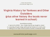 Virginia history for yankees