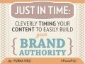 Cleverly Timing your Content Marketing to Build Brand Authority- SMX Advanced 2014 by Purna Virji