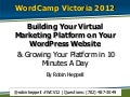 Virtual Marketing Platform for WordPress Websites