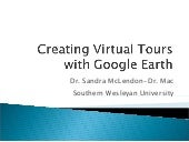 Virtutal Field Trip with Google Earth