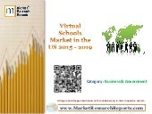 Virtual Schools Market in the US 2015 - 2019