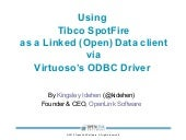 Using Tibco SpotFire (via Virtuoso ODBC) as Linked Data Front-end