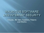 Viruses and internet security