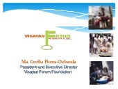Visayan Forum Foundation for MS Off...