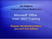 Visio 2007ù Shapes  Introductory Ba...