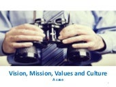 Vision,mission,values and culture ver 1.0