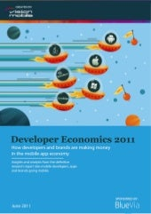 Developer Economics 2011