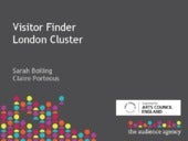 Visitor Finder London Cluster Presentation