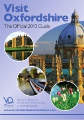 2013 Visit Oxfordshire Destination ...