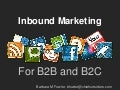 Inbound Marketing for B2B and B2C Companies