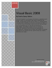 Visual basic-2008 tutorial