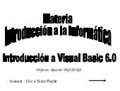 Visual basic  1º Año