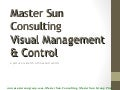 Visual Control and Management : Manufacturing Management