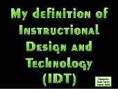 Visual Definition of Instructional ...