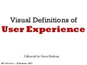 Visual Definitions of User Experience