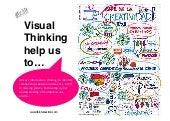 Visual thinking help us to...