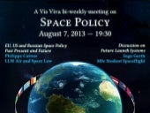Space Policy - Vis Viva - 10th bi-w...