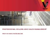 Selling & Sales Management in the f...