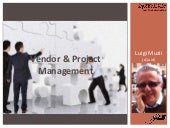 Vendor & Project Management