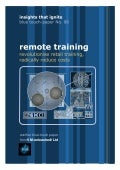 The Revolution of Remote Training - Insights that Ignite No.6