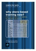 VMUnleashed-blue-touchpaper08- Why Store Based Training?