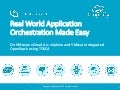 Real World Application Orchestration Made Easy on VMware vCloud Air, vSphere and VMware Integrated OpenStack using TOSCA