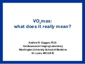 Vo2max   what does it really mean