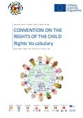 Vocabulary convention on the rights of the child