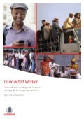 Connected Worker - How mobile technology can improve working life in emerging economies