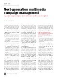 Next-generation Multimedia Campaign Management