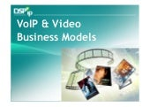 Voip video business models