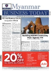 Myanmar Business Today - Vol 2, Iss...